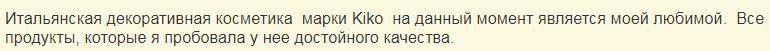 Отзыв на консилер Full Coverage Concealer от Kiko Milano