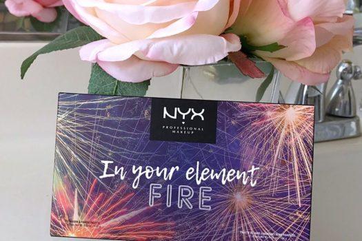 Обзор палетки теней In Your Element Shadow Palette Fire от NYX