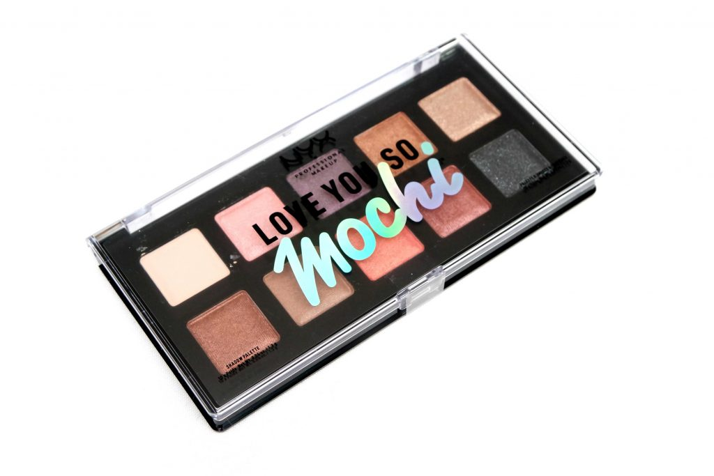 Палетка теней Love you so Mochi Eyeshadow Palette Sleek and Chic от NYX