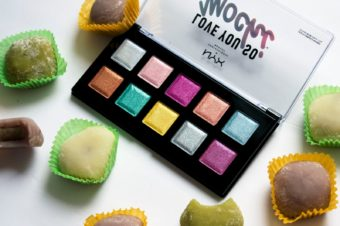 Обзор Love You So Mochi Eyeshadow Palette Electric Pastels от NYX
