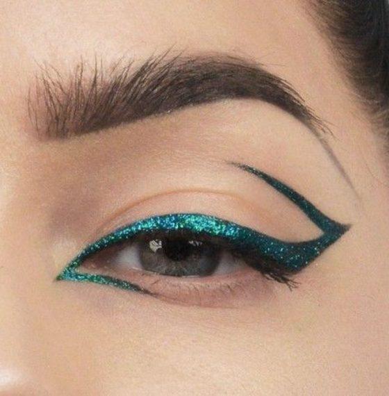 Цветные стрелки: секреты модного макияжа глаз