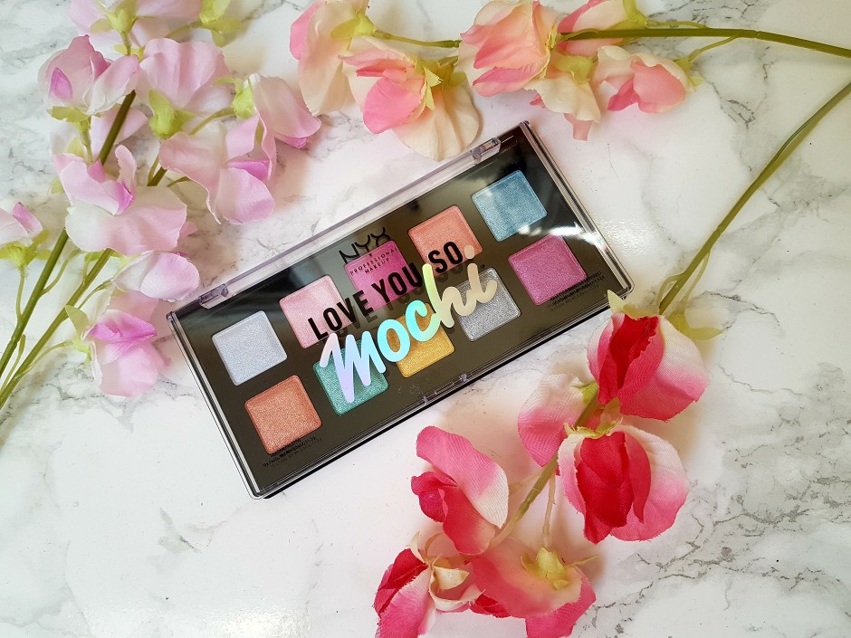 Палетка теней Love You So Mochi Electric Pastels от NYX