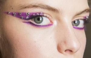 Цветные стрелки на показе Prada