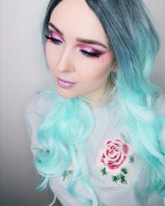 Фантазийный макияж с палеткой Love You So Mochi Eyeshadow Palette Electric Pastels от NYX