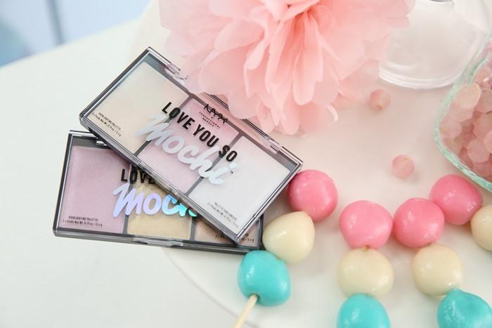 Хайлайтер Love You So Mochi Highlighting Palette от NYX