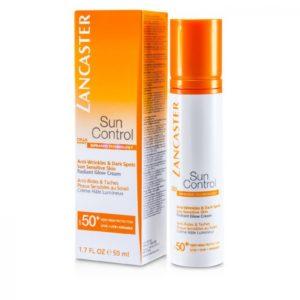 Солнцезащитный крем Sun Control Anti-Wrinkles & Dark Spots Radiant Glow Cream SPF50+ от Lancaster
