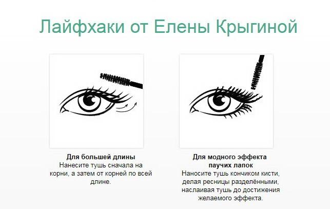 Советы Елены Крыгиной по нанесению туши для ресниц High Impact Mascara от Clinique