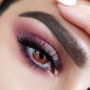 Макияж глаз с палеткой Naked Cherry от Urban Decay