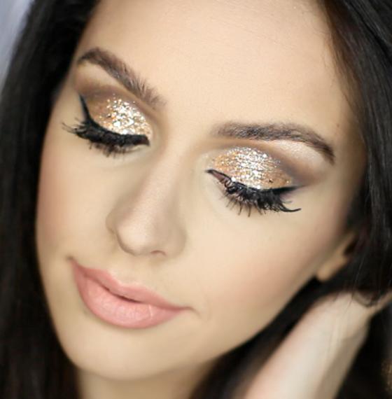 Праздничный макияж. Пошаговая инструкция с фото и видео