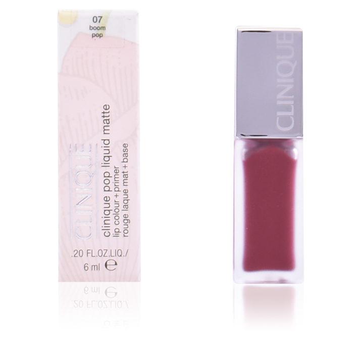 Обзор на Clinique Pop Liquid Matte lip colour + primer