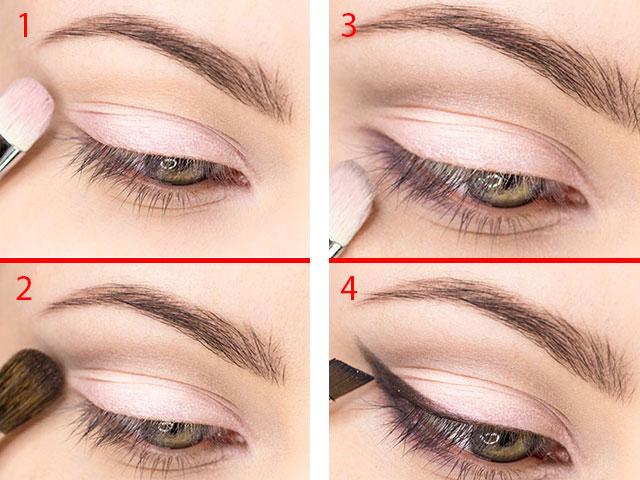 Как накрасить глаза на учебу