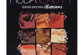 Huda Beauty Warm Brown Obsessions — обзор палетки