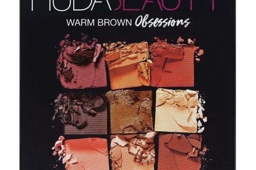 Huda Beauty Warm Brown Obsessions — обзор палетки