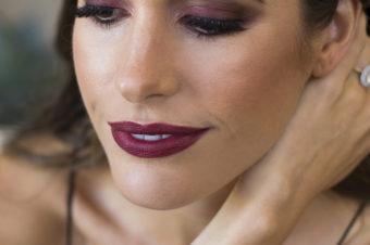Бордовые тени для век: примеры макияжа с фото и видео