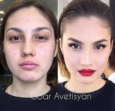 макияж Гоар