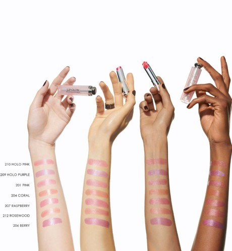 Dior Addict Lip Glow swatches
