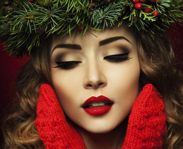 Как сделать модный макияж на новый год