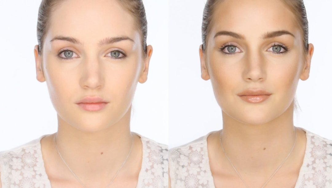 того, сделать худое лицо на фото айфон правильно