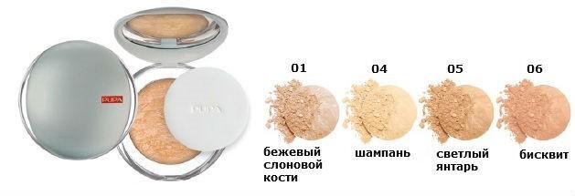 Запеченная пудра Luminys Baked Face Powder от Pupa