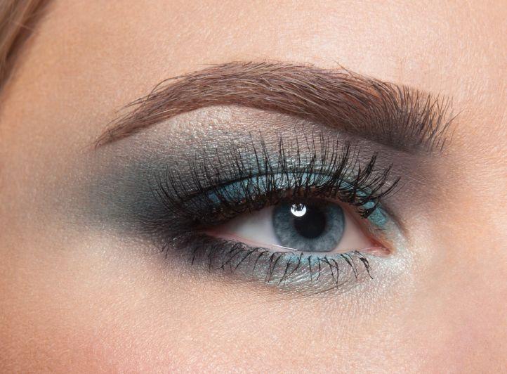 Макияж для выпускного вечера для голубых глаз