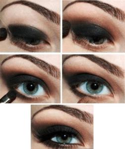 Пошаговая инструкция по выполнению рок-макияжа
