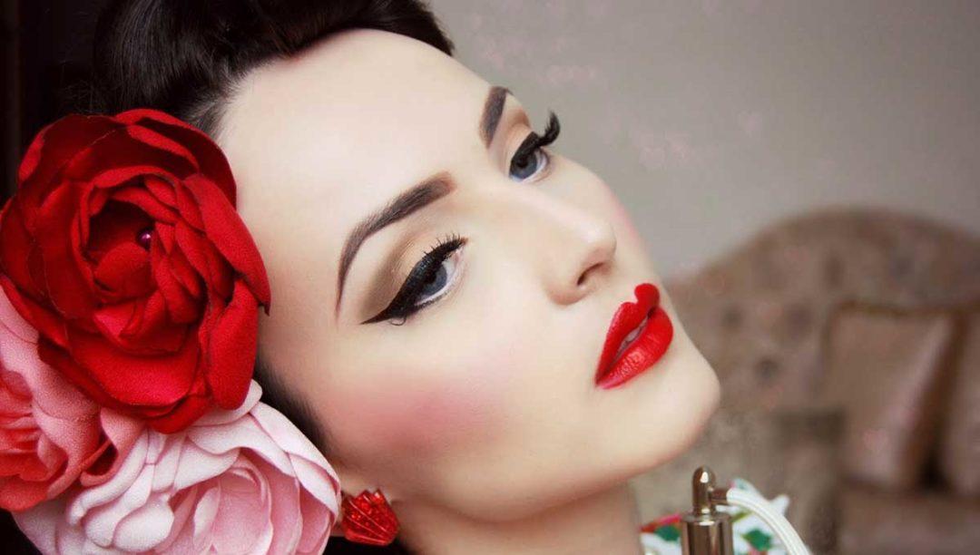 Особенности макияжа 50-х годов
