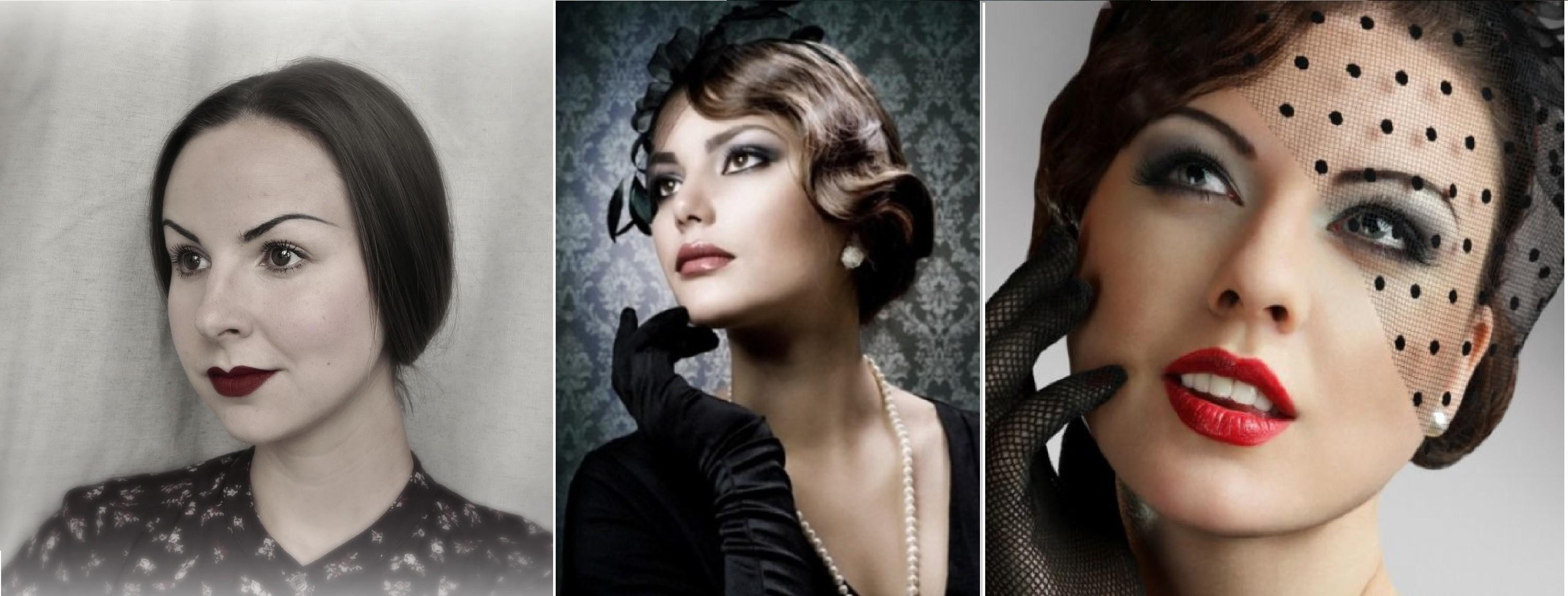 Современные образы в стиле 30-х годов