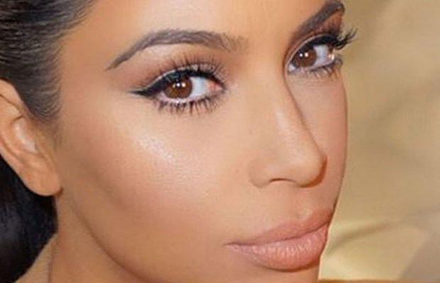 Легкий дневной макияж Ким Кардашьян