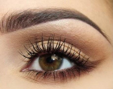 Макияж светло-карих глаз