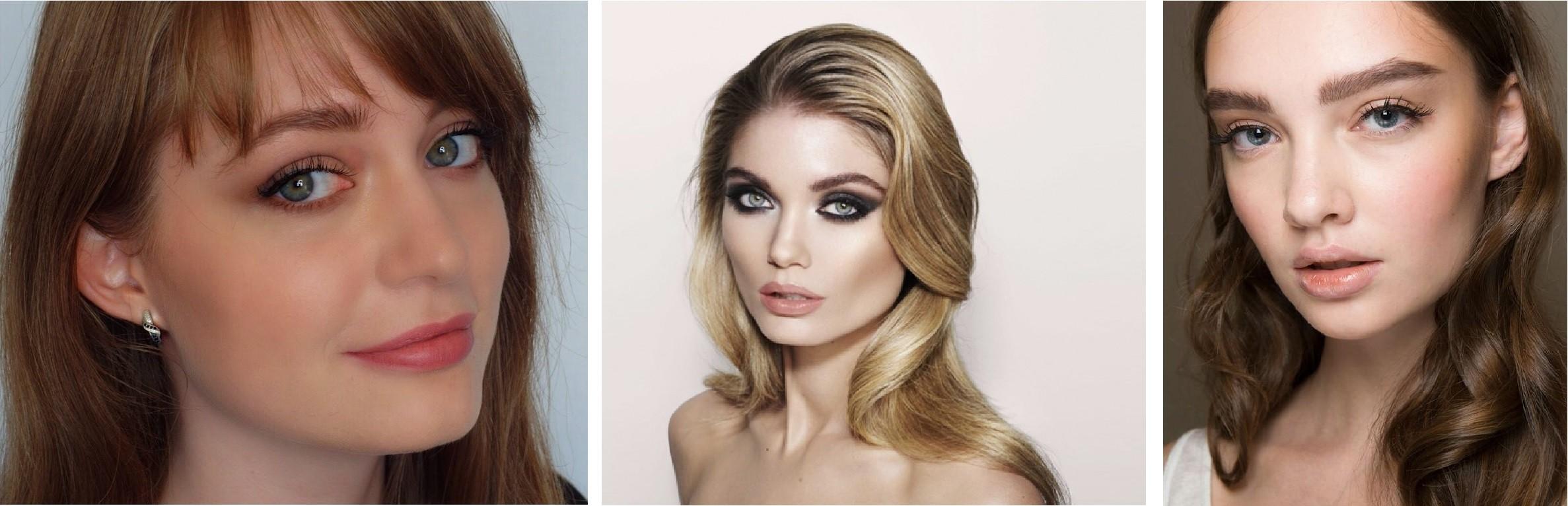 Примеры макияжа в стиле 90-х годов