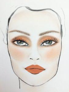 Макияж, чтобы сделать серые глаза голубыми