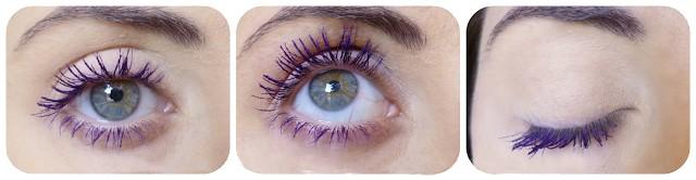Свотч туши для ресниц цвет 400 - Vamp! Amethyst Violet