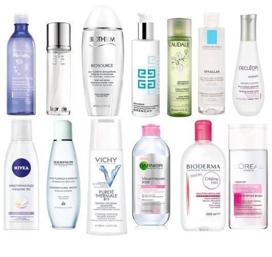 Мицеллярная вода для снятия макияжа