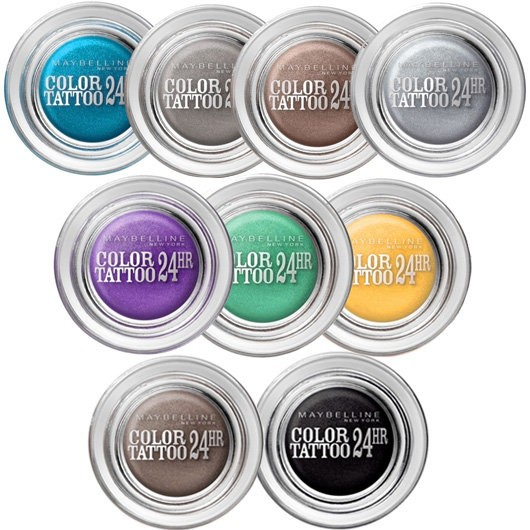 Тени для век EyeStudio Color Tattoo от Maybelline New York