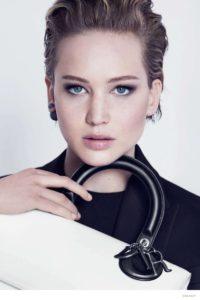 Макияж Дженнифер Лоуренс в рекламе Dior