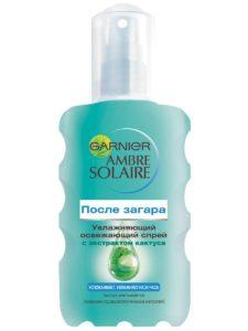 Спрей для тела после загара Ambre Solaire от Garnier