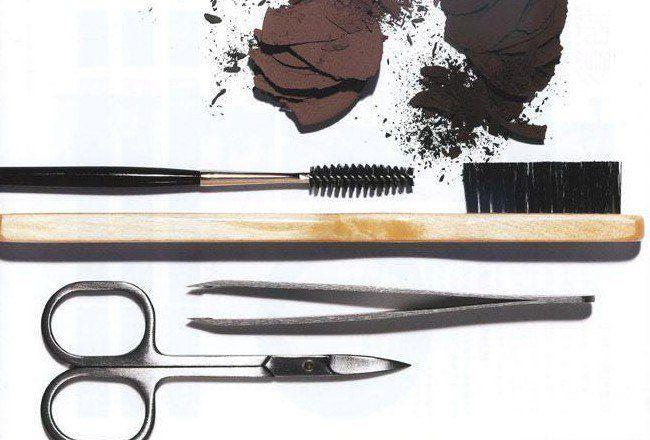 Инструменты для коррекции бровей