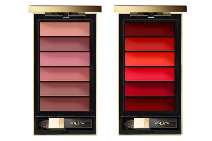 Палетка помад Colour Riche Lip Palette от L'Oreal