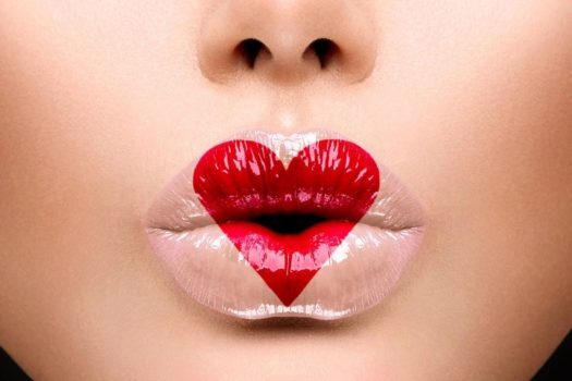 Как правильно и красиво красить губы помадой