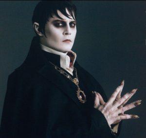Фото вампира из фильма «Мрачные тени»