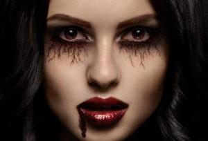 Макияж вампирши