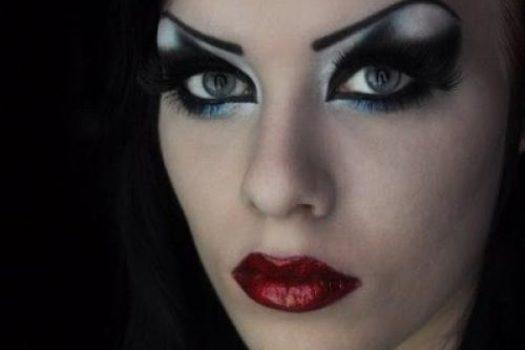 Как своими руками сделать макияж ведьмы на Хэллоуин