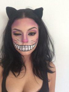 Милый макияж Чеширского кота