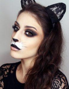 Милый макияж кошки