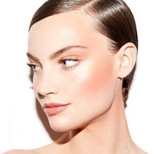 Повседневный макияж в технике дрейпинг