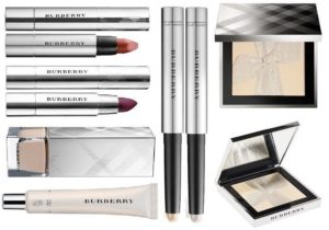 Зимняя коллекция макияжа Burberry Festive Makeup Collection Christmas Holiday 2017