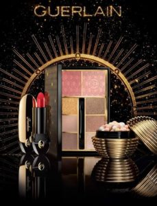 Зимняя коллекция макияжа Guerlain Gold Ball Makeup Collection Christmas Holiday 2017