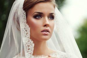 Свадебный макияж смоки айс