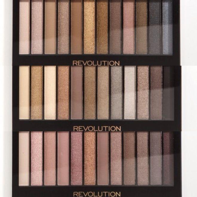 Нюдовые палетки Redemption Palette от Makeup Revolution
