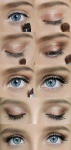 Пошаговый урок по макияжу глаз в домашних условиях